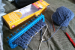 loom knitting for charity